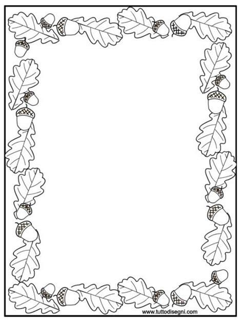 cornice autunno cornicetta autunno bordes margenes