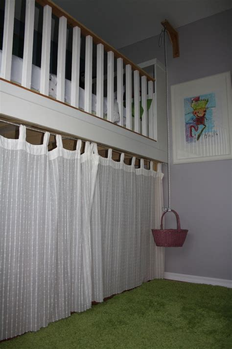pulley curtain systems pin by krysti maxwell on loft beds pinterest
