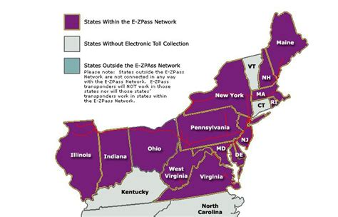 Ez Pass States Map by Willing To Pay Another 1 Per Month For Each Virginia E