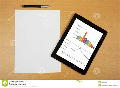 How To Make Your Own Pen And Paper Rpg - tablet computer royalty free stock image image 30508746