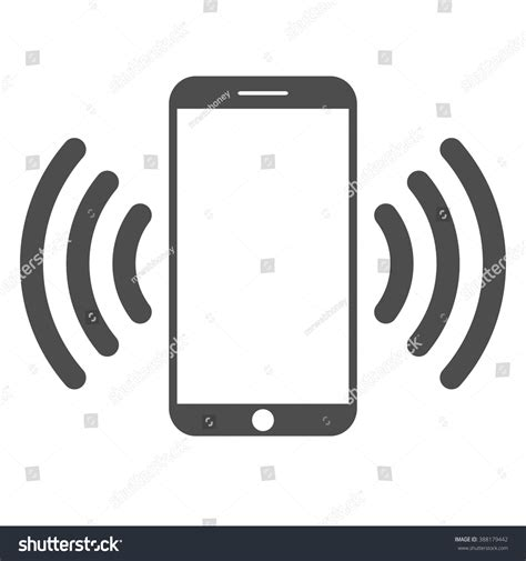 mobile connections mobile phone mobile connection stock vector 388179442