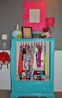 kid closet drawers and closet on pinterest repurpose an old dresser into a wardrobe by removing the