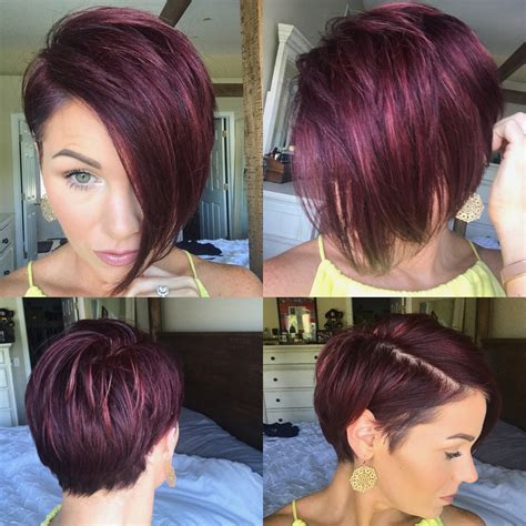 Inverted Bob Hairstyle Pictures On Plus Models | funky inverted bob haircuts haircuts models ideas
