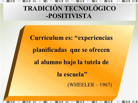 Modelo Curricular Wheeler Paradigmas Educativos