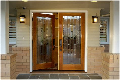 Different Front Doors Give An Look To Your Front Door With Different Accessories