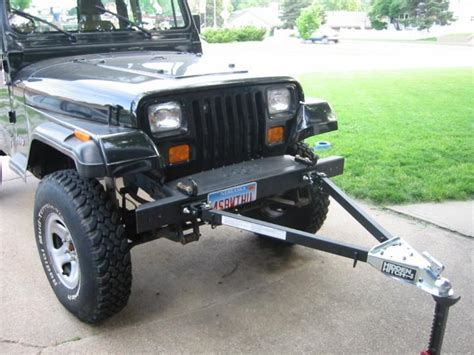 Jeep Towing Yj Flat Tow Setup