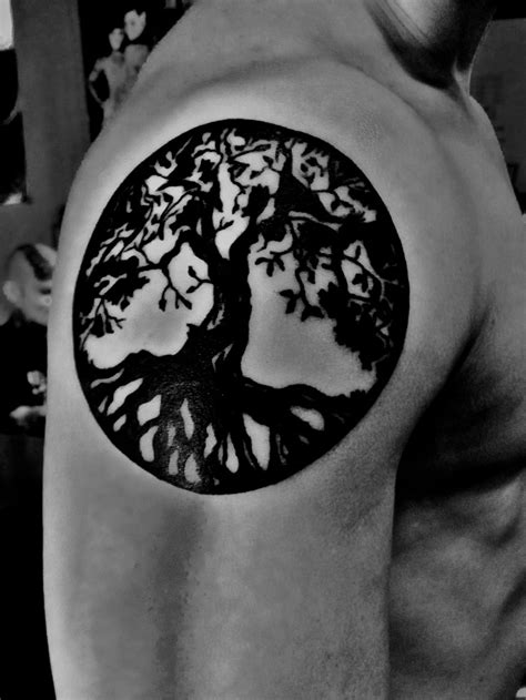 tattoo tree of life 26 best yggdrasil images on