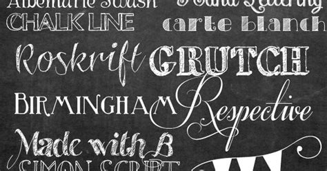 printable sign fonts how to make your own printable chalkboard sign