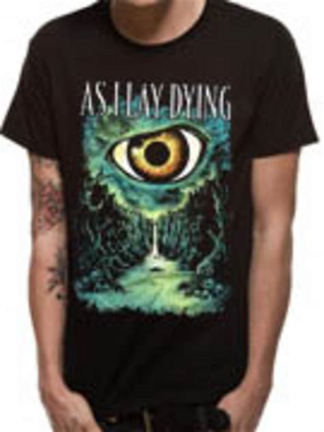 As I Lay Dying 16 T Shirt Size M as i lay dying valley t shirt buy as i lay dying valley t shirt at the kerrang