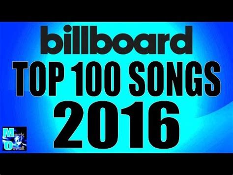 best new year song 2016 billboard 100 top 100 singles year end 2016