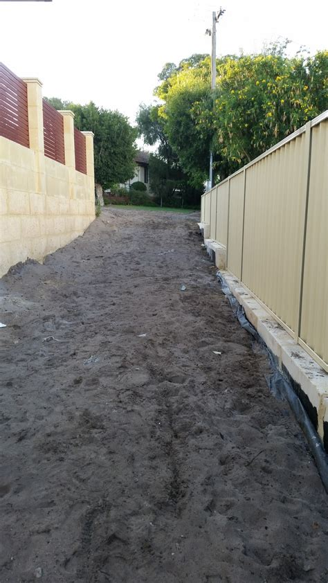 backyard subdivision jarrah jungle backyard subdivision progress the last