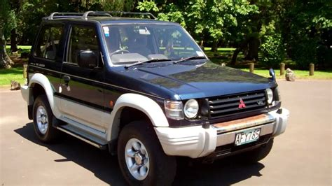 how to fix cars 1994 mitsubishi pajero security system 1994 mitsubishi pajero 1 no reserve cash4cars sold youtube