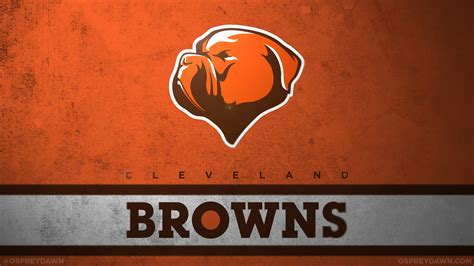 Cleveland Browns by Your Favorite Nfl Team Logos Redesigned Afc