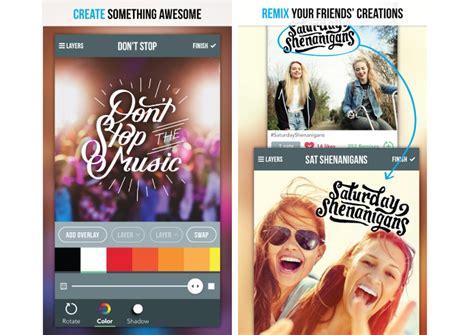 design app studio meus apps para editar fotos