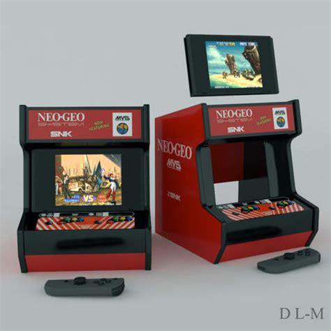 nintendo switchをストiiのアーケードゲーム機風に魔改造 gigazine