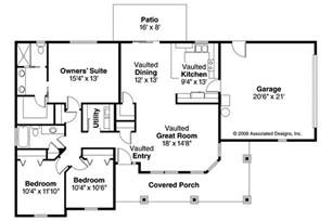 bungalow style homes floor plans bungalow house plans strathmore 30 638 associated designs