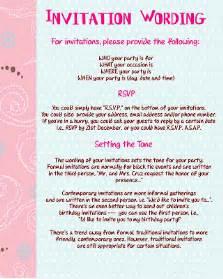 personalized invitations invitation wording