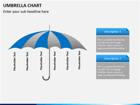 umbrella pattern antenna ppt umbrella chart powerpoint template sketchbubble