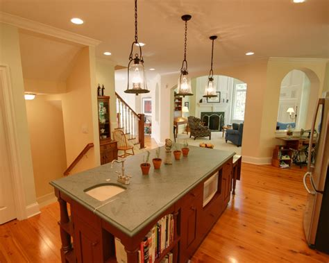 colonial kitchen houzz williamsburg colonial