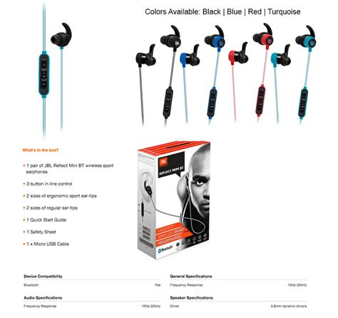 Jbl Reflect Aware Mini Bt Bluetooth Headset T1910 4 best reviews authentic jbl synchros reflect bt in ear