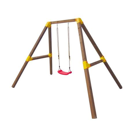 single swing sets wendi diana single swing set kids wooden playset buy
