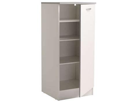 armoire largeur 60 cm 1 2 armoire 60 cm spoon coloris blanc vente de armoire