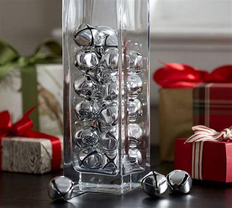 Silver Vase Fillers by Silver Jingle Bells Vase Filler Pottery Barn