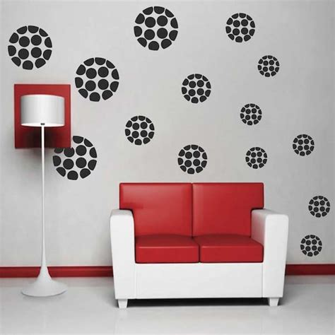 trendy wall designs modern polka dot dots wall designs trendy wall designs