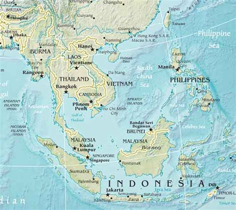 southeast asia geography map southeastern asia and the palaemongolids