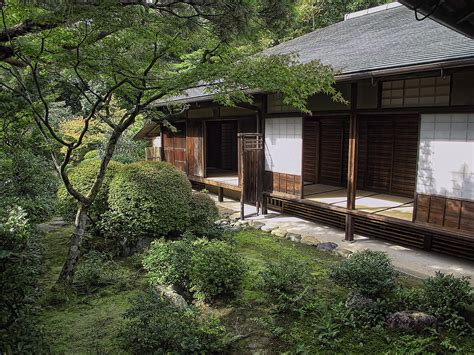 tea house garden koto in zen tea house and garden kyoto japan photograph by daniel hagerman