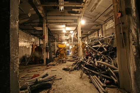 2007 winter photos power plant garage demo