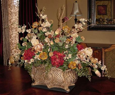 silk flower arrangements for dining room table dining room centerpieces dining room outstanding