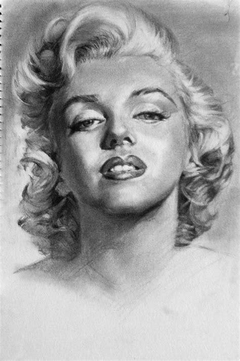 pencil portrait drawing marilyn pencil sketch portrait alchessmist images