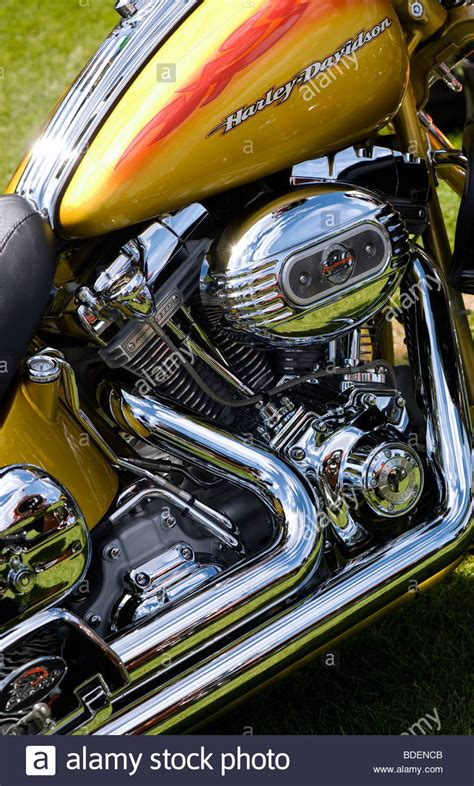Custom Paint Harley Davidson Motorcycles by Harley Davidson Motorcycle Custom Paint Stock Photos