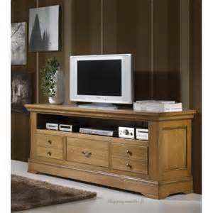 meuble de television meuble tv hifi 100 ch 234 ne massif quot rouen quot