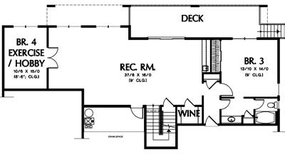 New Home Building and Design Blog   Home Building Tips   One story floor plans with basement