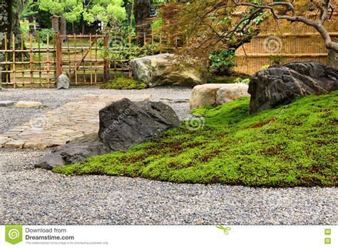 Rock Garden Kyoto Japan Stock Photo Image 76634341 Rock Garden Kyoto