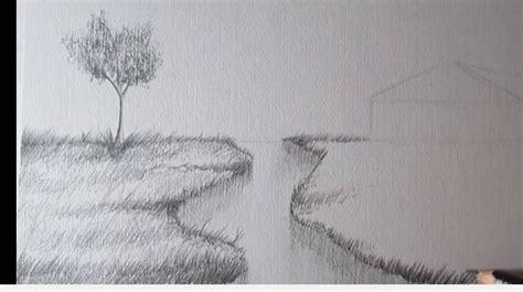 Imagenes Para Dibujar A Lapiz De Paisajes Faciles | paso 5 para aprender a dibujar paisajes a lapiz dibujo