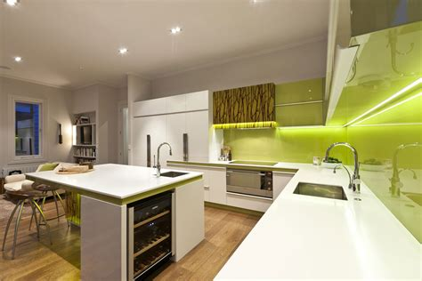 green and kitchen ideas green and white modern kitchen 2 interior design ideas