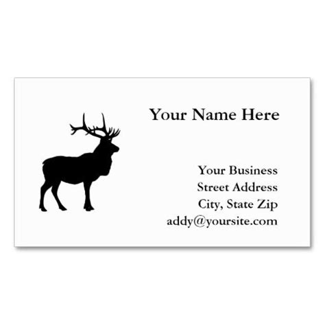 elk business card template 17 best images about business cards on