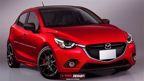 mazda new 2 mazda2 mps mazdaspeed2 rendering looks ready to take on
