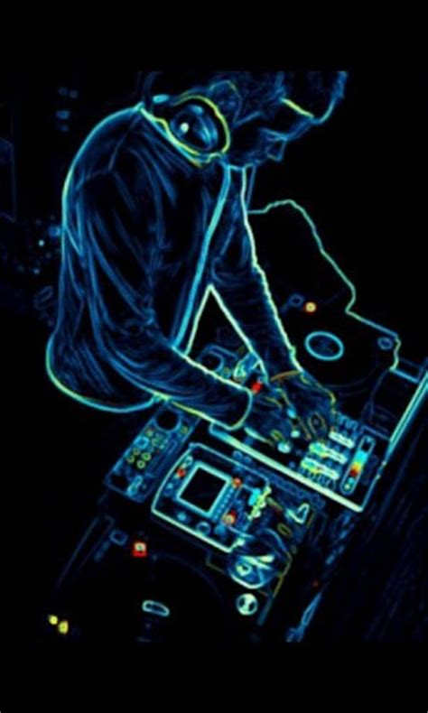 Download Neon Dj 3D Live Wallpaper for Android - Appszoom Dj Wallpaper 3d