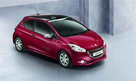 peugeot 208 range peugeot 208 style special edition added to uk model range
