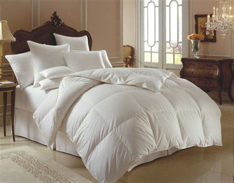 bedding and pillows downright himalaya 700 polish white goose down comforter and down pillow