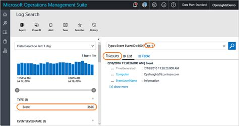 best web search find data with log searches in azure log analytics