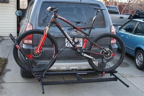 Diy Car Bike Rack by Diy Hitch Rack Mtbr