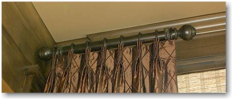 decorative rods for curtains decorative curtain rods decor by steve