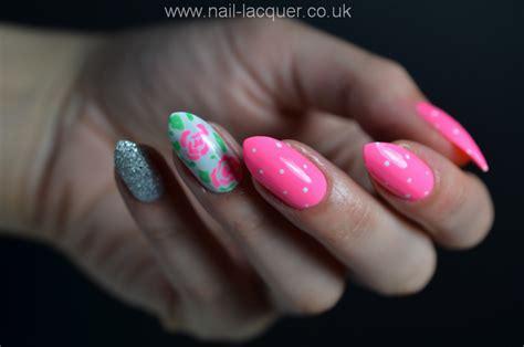 easy nail art roses easy rose nail art nail lacquer uk