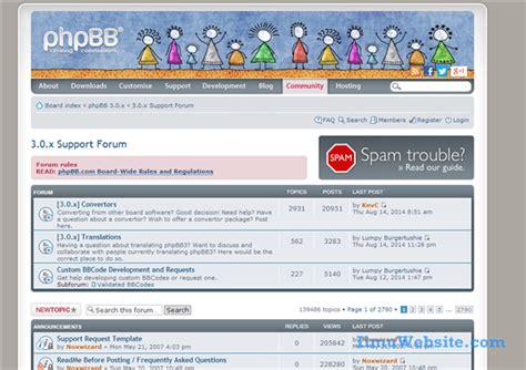 membuat website komunitas dengan php 5 cms forum terbaik untuk membangun website berbasis