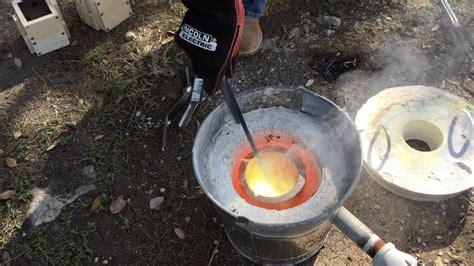 backyard casting making a backyard foundry youtube
